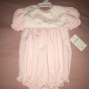 Auraluz Boutique Infant Pink Dress Size 6Month